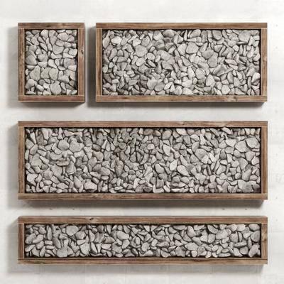 石頭鵝卵, 鵝卵石組合, 現代
