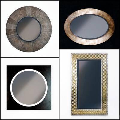 镜子, 装饰镜, 现代镜子, 镜子相框, 现代