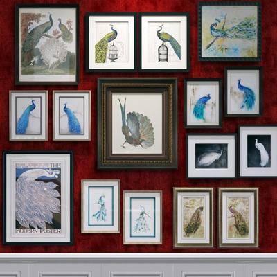 挂画, 动物画, 装饰画, 现代动物挂画, 现代