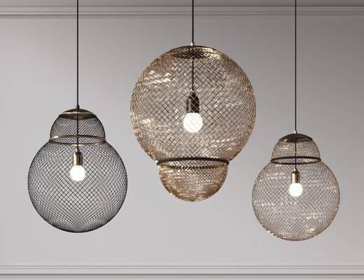 现代金属吊灯