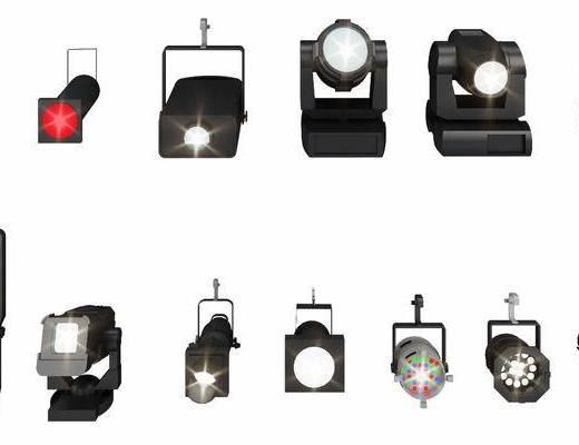 舞台射灯, 灯具照明, 现代