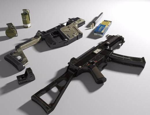 UMP45, 维克托, 全息瞄准镜, 子弹