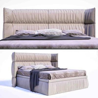 双人床, 床, 现代