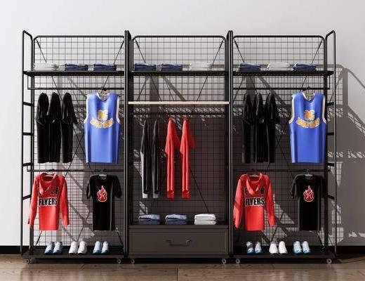 衣服展示架, 球衣, 衣架