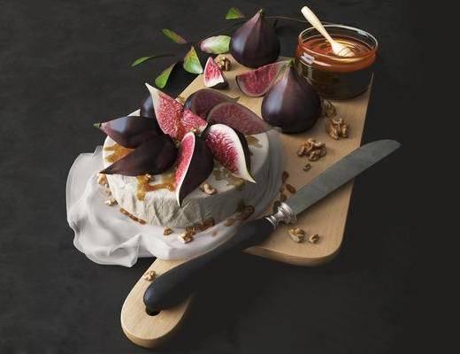 北欧简约, 水果, 水果刀, 日用品组合