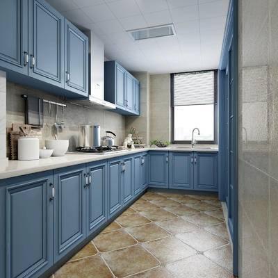 厨房, 厨房用品, 百叶窗