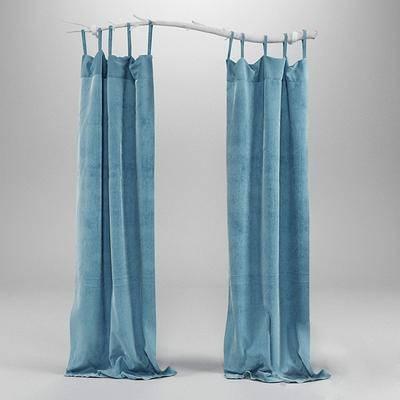 窗帘树杆, 现代
