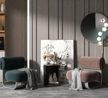 现代椅子, 现代单椅, 椅子, 单椅