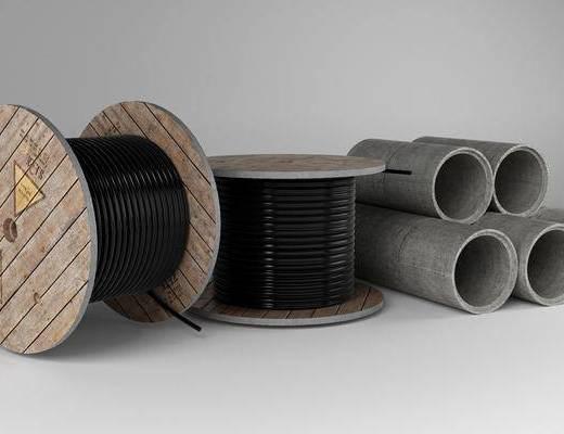 电缆水泥管, 现代
