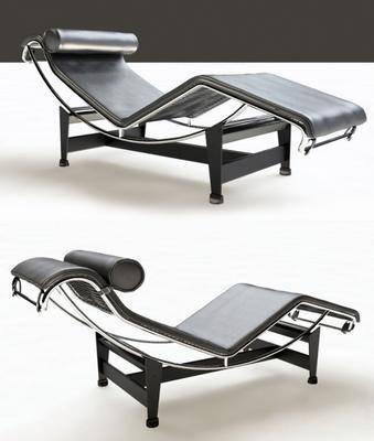 躺椅, 椅子, 皮革躺椅, 现代