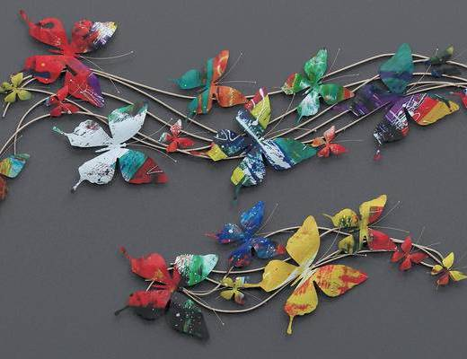 陈列品, 装饰品, 蝴蝶