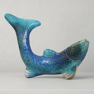 塑料摆件, 鲤鱼, 现代
