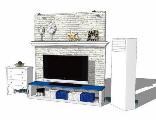 电视柜, 柜架组合, 电视