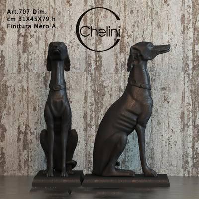 狗, 雕塑, 摆件