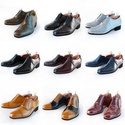 皮鞋, 男装鞋, 鞋子, 现代