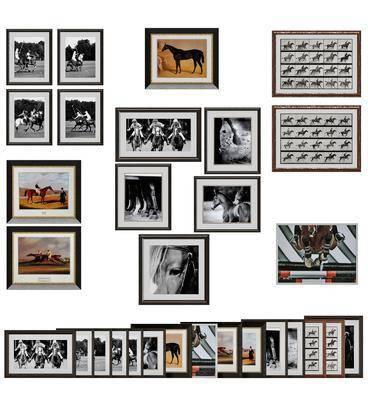 挂画, 人物挂画, 动物挂画, 现代