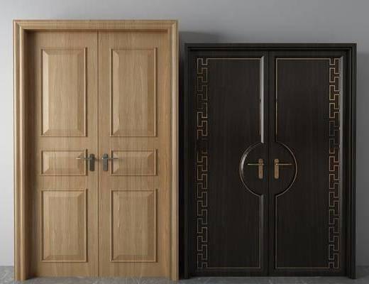 双开门组合, 中式