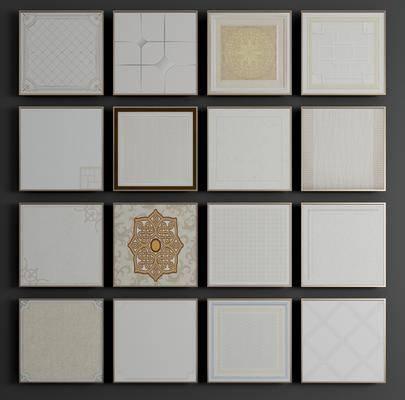 集成吊顶, 铝扣板, 铝扣板吊集, 铝塑板, 金属板, 矿棉板, 石膏板, 现代