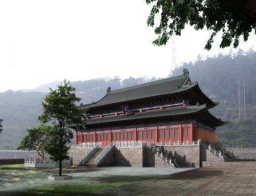 建筑, 古建, 寺庙