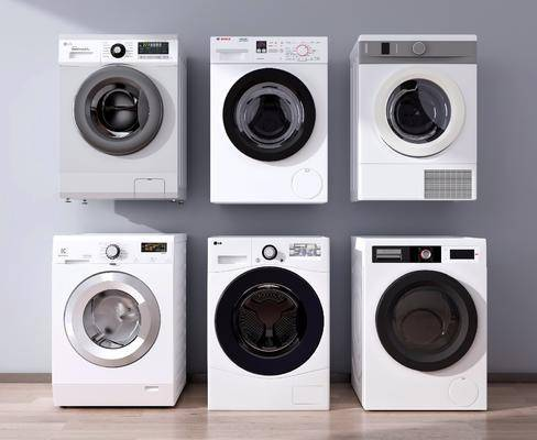 洗衣机, 电器, 滚筒洗衣机