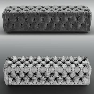 贵妃椅, 沙发凳