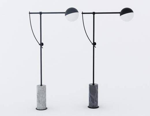 落地燈, 現代