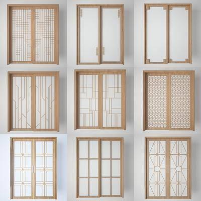 双开门, 阳台门, 玻璃门