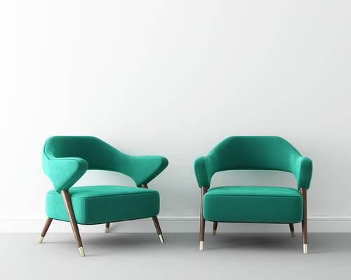 单人沙发, 椅子