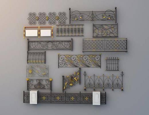 欧式围栏, 围栏, 栏杆