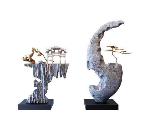 雕塑, 雕像, 装饰品