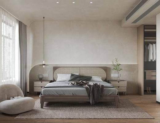 侘寂风, 卧室, 家装
