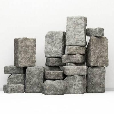 石头, 摆件, 石块, 现代