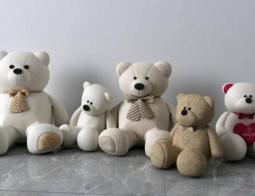 玩偶组合, 玩具玩偶, 现代