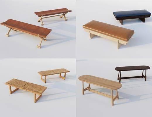 北欧, 长凳, 单体