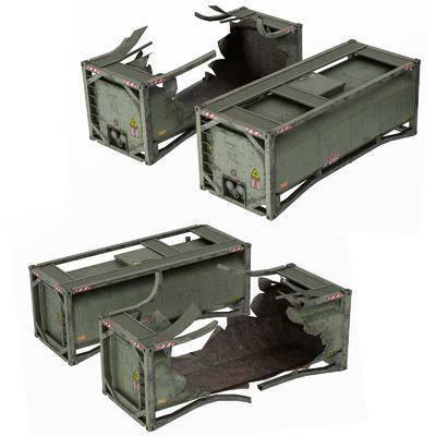 弹药箱, 军事器材