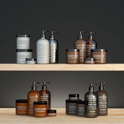 卫浴组合, 浴室, 洗浴用品, 组合, 现代