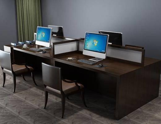 現代辦公區, 辦公區