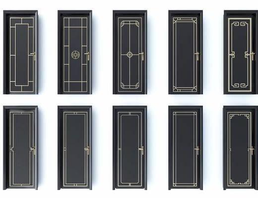 新中式, 门