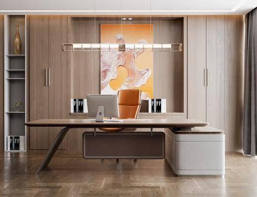 现代办公室, 现代办公椅, 现代办公桌