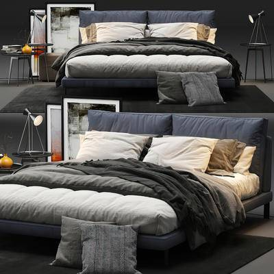 现代, 双人床