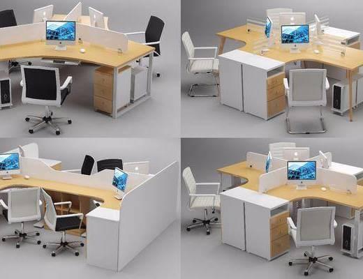办公桌, 电脑桌, 桌椅组合, 工作桌