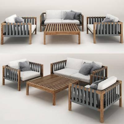 桌子, 椅子, 单椅, 茶几, 现代