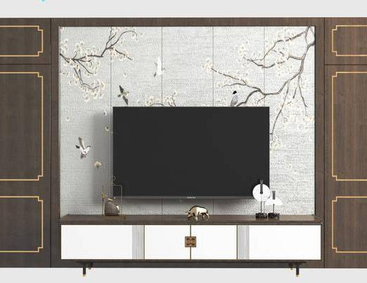 电视墙, 背景墙, 组合