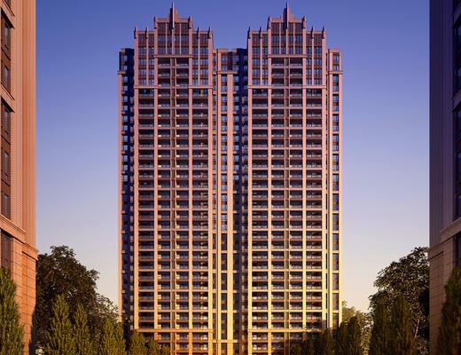 大厦, 建筑, 住宅