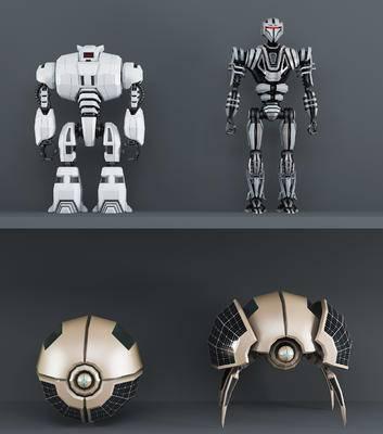 现代, 工业风, 机器人