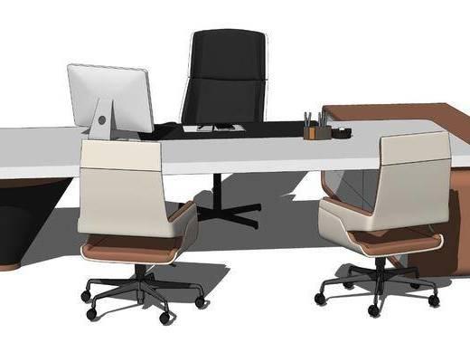 现代领导办公桌椅