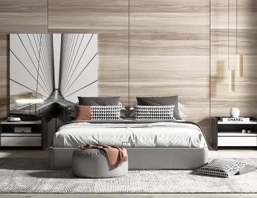 现代, 床具, 组合