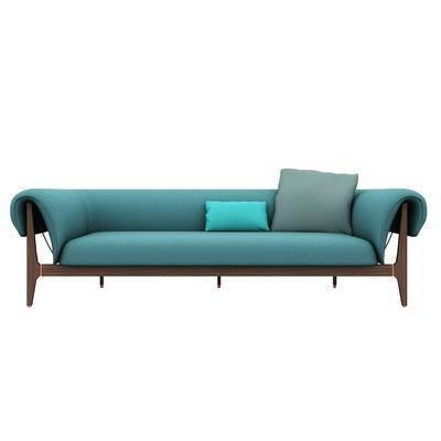 雙人沙發, 現代沙發, 沙發, 多人沙發