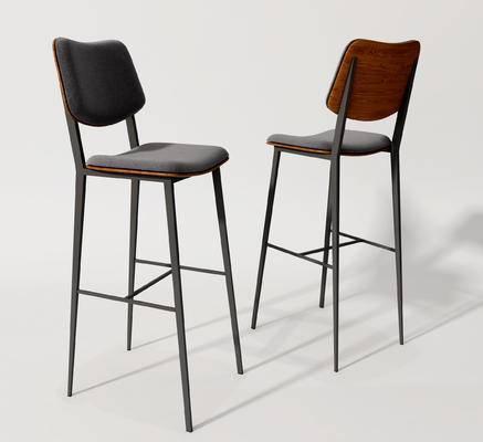 现代, 吧椅, 单体