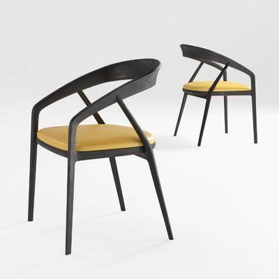 新中式, 单椅, 单体